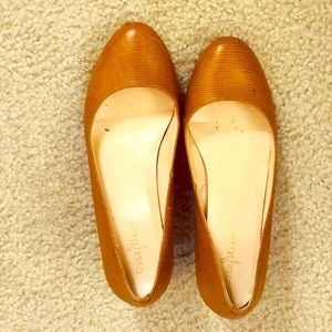Cole Haan Lainey Leather Wedges